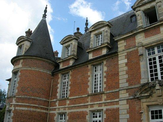 Haute-Normandie, Frankrijk: tourelle droite vue arrière