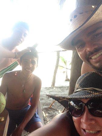 Playa Blanca, Мексика: Restaurante el marlyn enramada