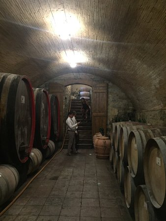 San Donato in Poggio, Italia: Esterni ed interni della fattoria
