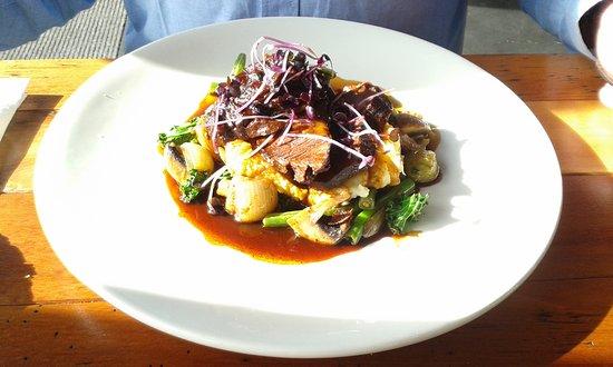 Blenheim, Neuseeland: My husbands beef main dish