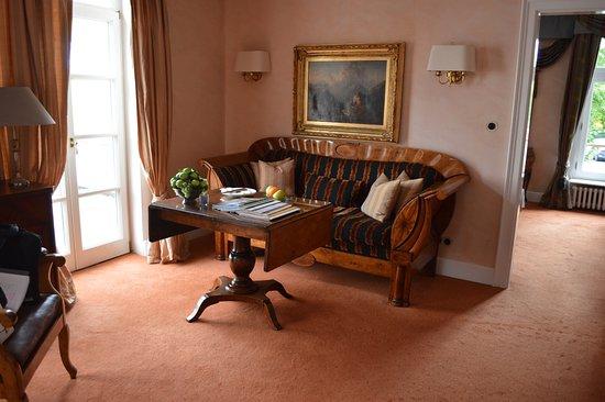 Hattenheim, Duitsland: Salon de la suite