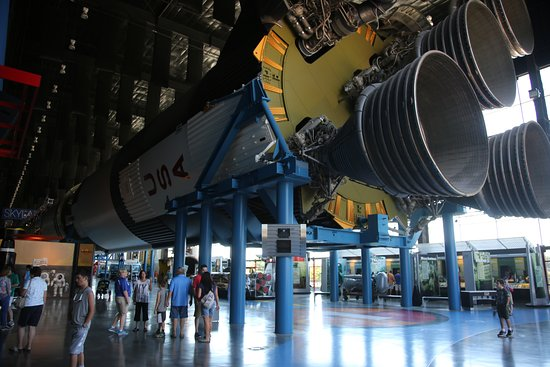 U.S. Space and Rocket Center: This really makes you appreciate what a feat it was to launch just three men into space.