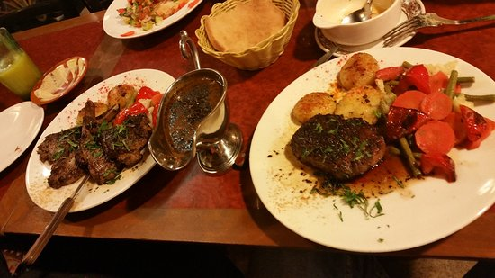 Amirah's Grill and Restaurant: All our dishes