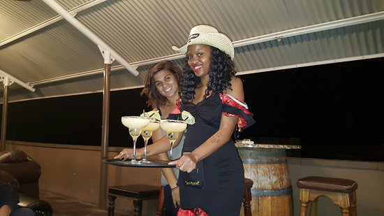 Skybar has the best staff and atmosphere complimented by delicious food in Kimberley