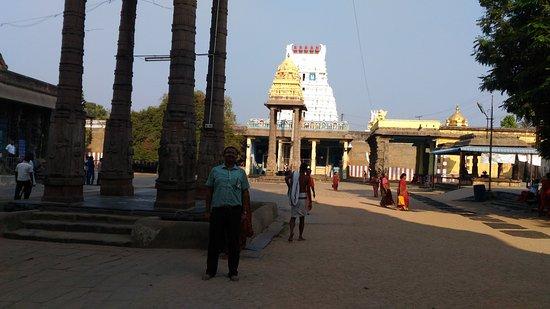 In the premises of Varadaraja Perumal Temple