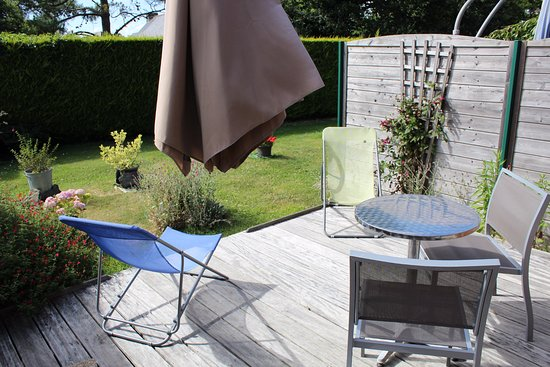 La Musardise : Terrasse privative