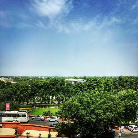 The Ashok: Nice view from room