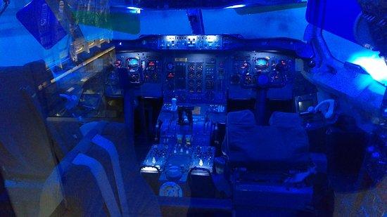 Blagnac, Frankrijk: Cockpit