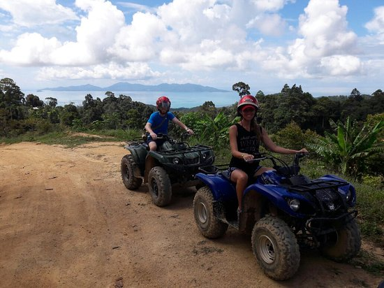 Maret, Thailand: Quadrophenia Samui ATV Mountain Tours