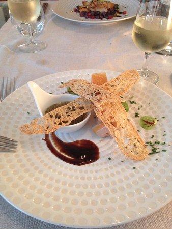 Hotel Cloitre Saint Louis: foie gras