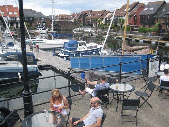 Hythe, UK: Jachthaven (uitzciht vooruit) 2