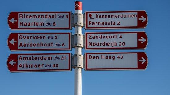Bloemendaal, Hollanda: Fahrradtour
