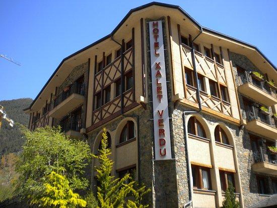 Arinsal, Andorra: fachada