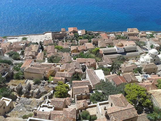 Upper Town of Monemvasia