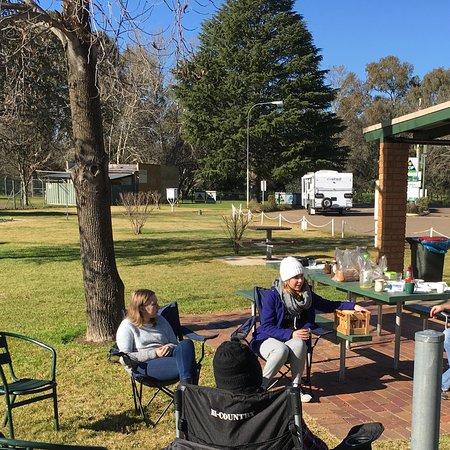 Gundagai, Australia: Camp kitchen