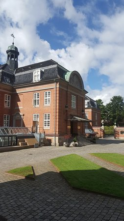 Huvudbyggnaden på Hotell Koldingfjord