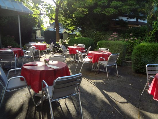 Singen, Germany: Terrasse