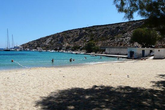 Agios Georgios, Grèce : spiaggia