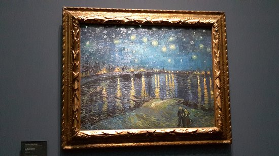 nuit toil e van gogh picture of musee d 39 orsay paris tripadvisor. Black Bedroom Furniture Sets. Home Design Ideas