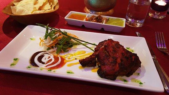 Portlaoise, Irlande : Chicken Tandoori starter