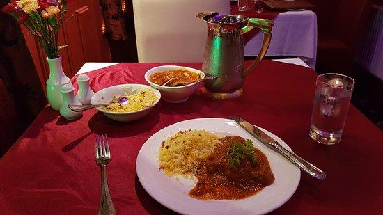 Portlaoise, Irlande : Lal Mas (Lamb main course)