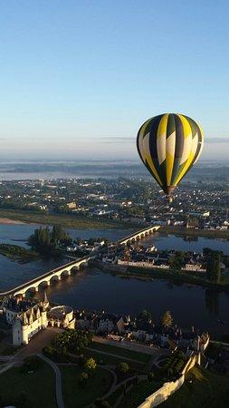 Amboise, France : Touraine Montgolfière
