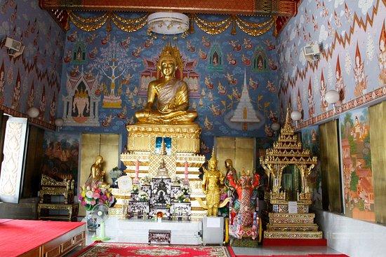 Pak Nam, Tailandia: l'intérieur du temple