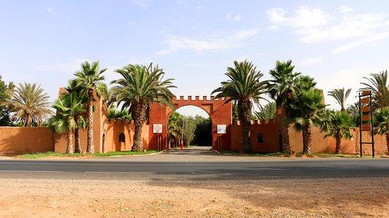 Oulad Teima, Marrocos: L'entrée du Domaine