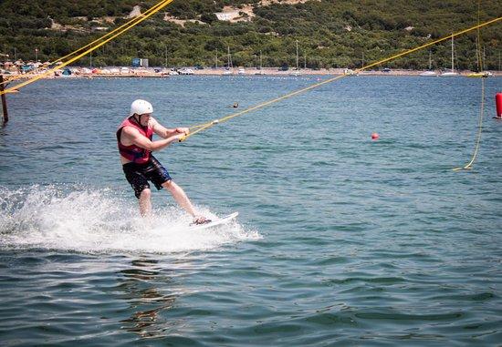 Krk Island, Kroatia: sikerült elindulni