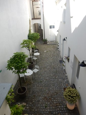 Znojmo, Tsjechië: Innenhof