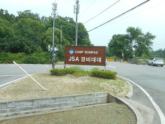 Paju, Corea del Sud: camp