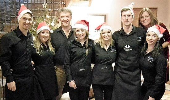 Sainte-Foy-Tarentaise, Francia: Black Diamond Team at Christmas