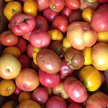 Bila Tserkva, أوكرانيا: Всім привіт:) Почався сезон українських, найкращих в світі, смачних, огородніх томатів:) Готуємо
