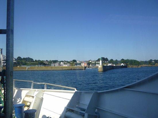Lorient, Francja: Arrivé à Port Tudy (île de Groix)