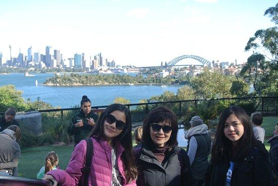 Mosman, Australia: beautiful scenery behind bird show
