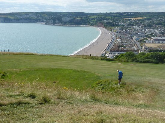 Seaton, UK: A 'hidden' green which is a delight to come across