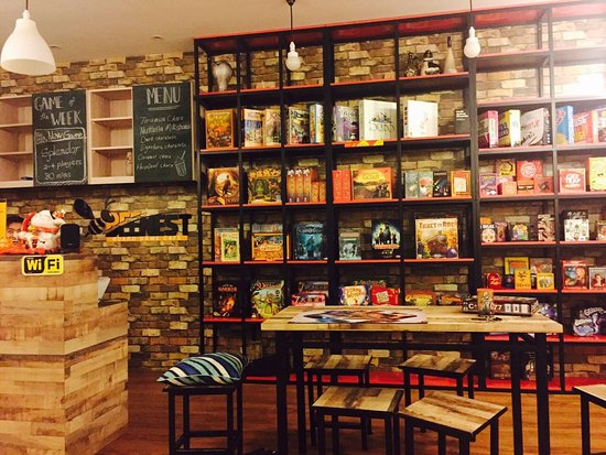 BEENEST -Board game cafe - Picture of Beenest - Board Game