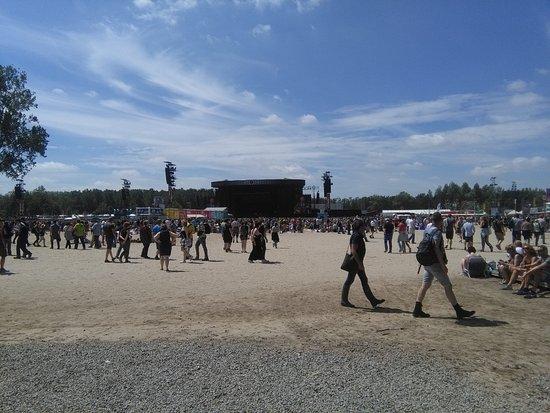 Werchter, เบลเยียม: Festivalweide