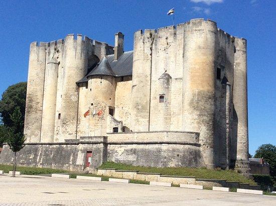 Niort, Frankrijk: Façade du côté de la place des Halles