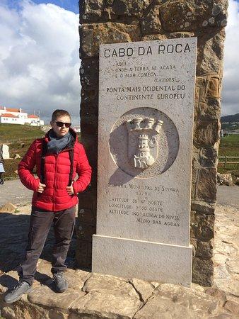 Colares, Portugal: Cabo da Roca, Portogallo, il punto più estremo d'Europa