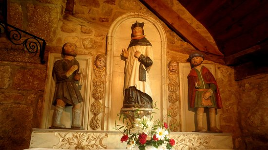 Saint Yves entre le riche et le pauvre