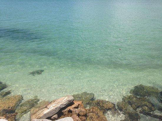 crystal clear waters of Boca Grande