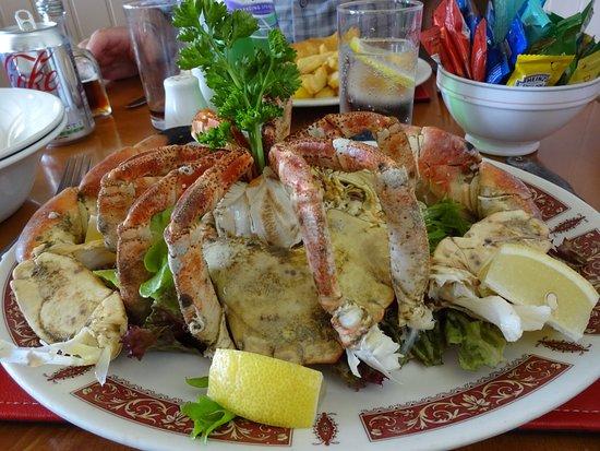 Gorey, UK: Whole crab