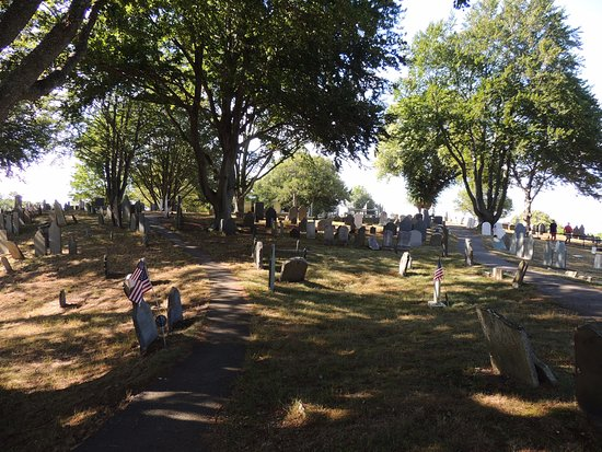 Burial Hill: Very peaceful.