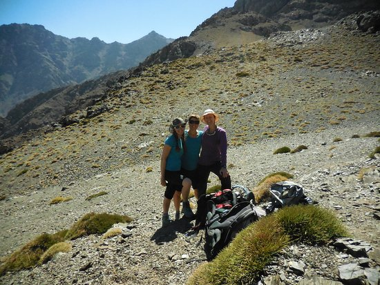 إمليل, المغرب: Real hiking in the mountains