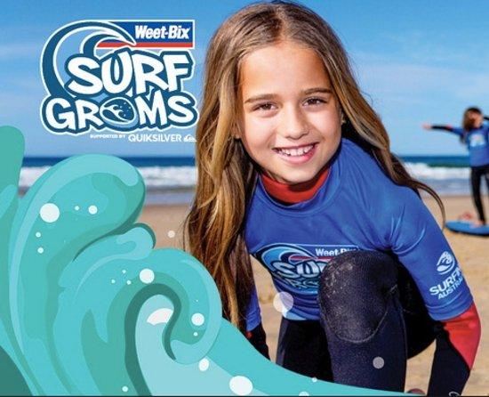 Kingscliff, Australien: Wheet-Bix Surf Groms Program