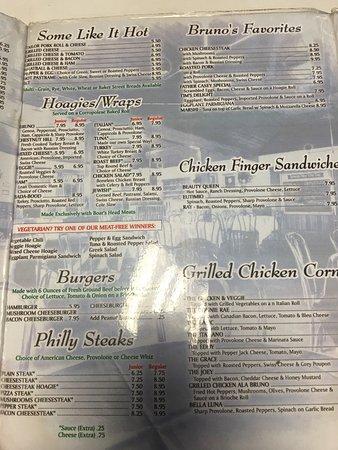 Lafayette Hill, เพนซิลเวเนีย: Bruno's Restaurant
