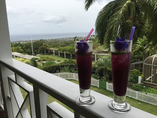 Charlestown, île de Nevis : A lovely lunch