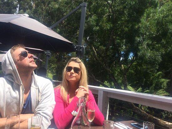 Sassafras, Australien: Sat on the beautiful deck