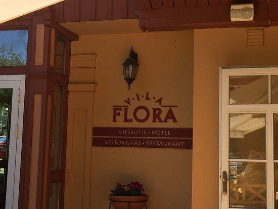 Juodkrante, Lithuania: Ресторан Vila Flora